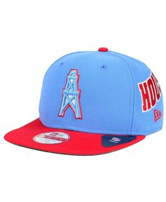 edb545074 New Era Houston Oilers Swerve 9FIFTY Snapback Cap Houston Oilers