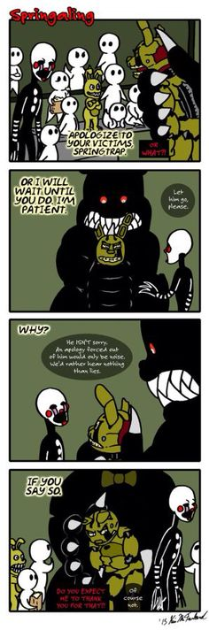Springaling 58: Nothing but the Truth by Negaduck9 on @DeviantArt