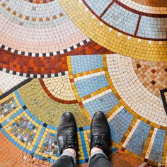 Photographer Sebastian Erras's Paris-based project has only one perspective—down. This vantage however, never fails to delight as it is captures the ornate mosaics of Parisian floors, brightly patterned tiles and scenes that exist underfoot. Each shot within Parisian Floors (@parisianfloors