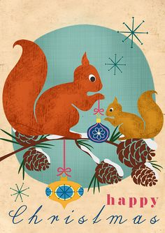 squirrel Christmas