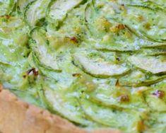 Recette de Tarte rustique à la courgette Quiches, Guacamole, Entrees, Appetizers, Pie, Sweets, Cooking, Ethnic Recipes, Food