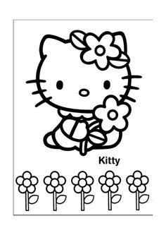 Tegninger til Farvelægning Hello Kitty 25