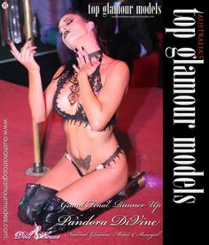Australia's Top Glamour Models Search Runner up Pandora Divine