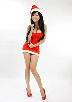 red white dress #5 - elly tran ha