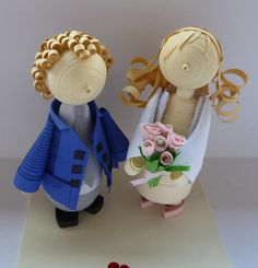 wedding no 2   #quilling