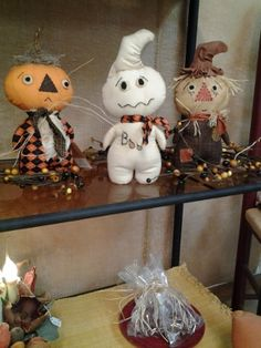 I just made my last batch of stumpkins for fall. get yours now they go fast! Primitive and Lace