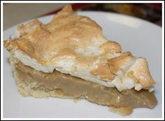 """""""The Absolute Best Homemade Creation Ever . . . The Infamous Old-Fashioned Made From Scratch - Butterscotch Meringue Pie In Flakey Butter or Lard Created Pie Crust! A Definite Delectable Delight Served With Your Personal Favs!"""" ~ Terri ~"""