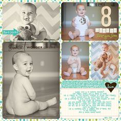 Jase's Baby Scrapbook – Completed!   Krista Lund Photography San Francisco Bay Area Newborn, Maternity, Child and Family Photographer
