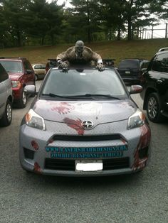Saw this car in the zoo parking lot - Imgur