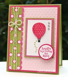 Stampin' Anne: Paper Players #96 - CAS with Polka Dots