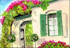"""Daily Paintworks - """"Very French"""" - Original Fine Art for Sale - © Patricia Ann Rizzo"""