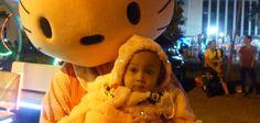 Bertemu Winnie The Pooh, Masha, dan Hello Kitty di PKOR Way halim