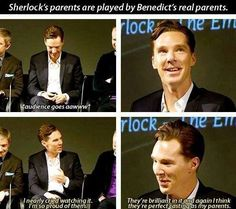 Wanda Ventham and Timothy Carlton, Benedict Cumberbatch's parents, join series 3 of as Sherlock and Mycroft's parents. Sherlock Holmes Bbc, Sherlock Fandom, Jim Moriarty, Sherlock Quotes, Watson Sherlock, Sherlock John, Sherlock Cast, The Mentalist, Johnlock