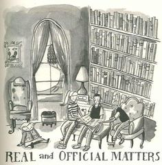 the chapter picture for Real and Official Matters -Art by Carson Ellis Tween Ages, Aging Society, The Mysterious Benedict Society, Good Books, My Books, Carson Ellis, Society Quotes, Chapter Books, Vintage Children's Books