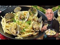 Hello Everybody! Today I am sharing with you my Linguine with Clams recipe! Clam… Hello Everybody! Today I am sharing with you my Linguine with Clams recipe! Clams are so delicious, both raw and cooked. Mixing clams with pasta makes for a Clam Recipes, Seafood Recipes, Gourmet Recipes, Pasta Recipes, Cooking Recipes, Healthy Recipes, Italian Dishes, Italian Recipes, Chefs