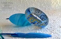 Bracciale in resina - Resin bracelet - Made by Simona Bini - Arts & Crafts