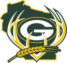 Packers, Bucks, Brewers combo logo
