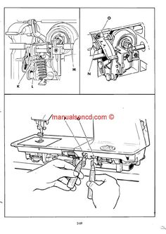 Viking Husqvarna 150, 180, 190 Sewing Machine Instruction