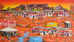 south africa township art