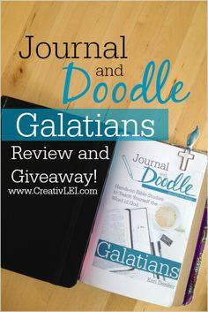 Journal and Doodle: Galatians Bible Study - Looking at life CreativLEI