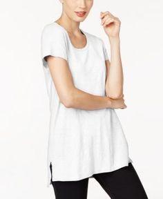 Eileen Fisher Organic Cotton Tunic - White XXS