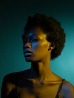 Andrea Zvadova - under colour on Behance Colour Gel Photography, Light Photography, Creative Photography, Portrait Photography, Stunning Photography, Photography Tutorials, Digital Photography, Portrait Lighting, Brown Skin Girls