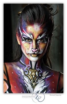 Mehron IMATS, New York, NY, Photography by Richard Esposito, Make- up Artists: Geneviève Jinny Houle, Model: Sindy Perez