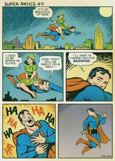Superman humor