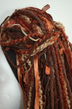 Persephone Yarn Hair Dread Falls by LoveLocks on Etsy                                                                                                                                                                                 More