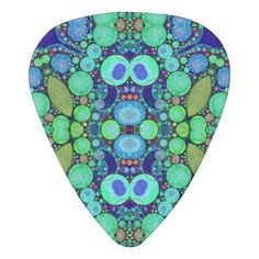 Abstract Pattern Celluloid Guitar Pick