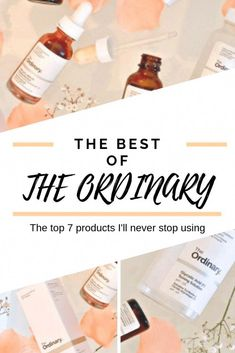 The Top 7 The Ordinary products I can't live without! – Jana Applova The Top 7 The Ordinary products I can't live without! What are the best The Ordinary products? These are the top 7 The Ordinary Products I can't live without! Beauty Care, Beauty Skin, Beauty Secrets, Beauty Hacks, Beauty Products, Diy Beauty, Skin Products, Homemade Beauty, Homemade Facials