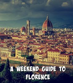 A Weekend Guide to Florence – 10 things to see and do in Florence. You've got just two days to create and carry out your dream travel itinerary in Florence. Here are 10 things that you simply must do and the places that you have to see in the city.