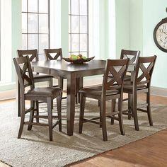 Reece 7-Piece Counter-Height Dining Set