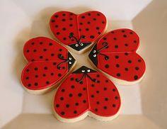 Cute creation with a heart shape cutter