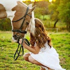 A girl and her horse... <3