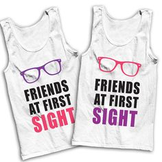 Friends At First Sight Best Friends Tees by AwesomeBestFriendsTs