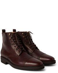 678de5f212b Billy Reid Kieran Cap Toe Leather Boots Moda Hombre
