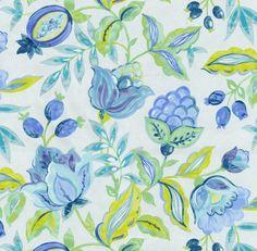 Home Decor Print Fabric- Waverly Modern Poetic AquariumHome Decor Print Fabric- Waverly Modern Poetic Aquarium,