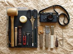 Leather Craft Gear with Leica M6 //