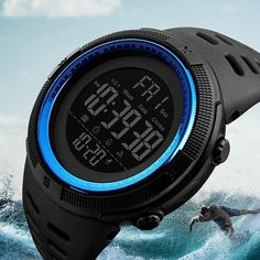 #DealOfTheDay #BestPrice Skmei Luxury Brand Mens Sports Watches Dive 50m Digital LED Military Watch Men Fashion Casual Electronics…