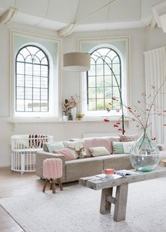 Image about beautiful in home deco by ℓυηα мι αηgєℓ ♡ Living Room Inspiration, Interior Inspiration, Design Inspiration, Home Living Room, Living Spaces, Deco Pastel, Pastel Interior, Interior Walls, Piece A Vivre