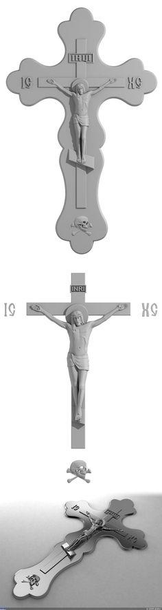 Распятие Христа — Компьютерная графика и анимация — Render.ru