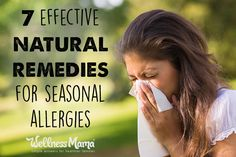 Get natural allergy relief with these natural remedies including herbs like nettle, supplements like quercetin and remedies like apple cider vinegar, honey and more.