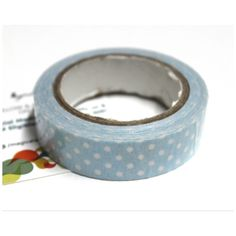 Buy Sky blue with white dots decorative tape/Adhesive for any use by undefined, on Paytm, Price: Rs.180?utm_medium=pintrest