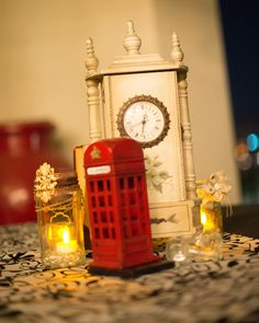 Centerpiece inspired by London