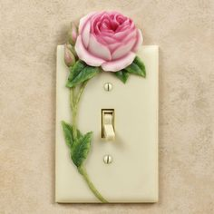 Rose Floral Decorative Switchplates