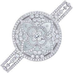 Sparkling Diamond Watch by Louis Vuitton