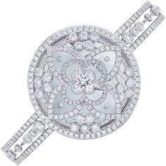 Sparkling Diamond Watch by Louis Vuitton