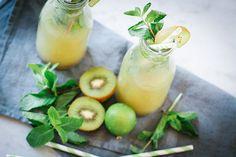 Kiwi-Minz-Limonade