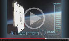 La compañía Urban Armor Gear ha diseñado una acción de marketing en la que lanza un smartphone desde la estratosfera para demostrar que su carcasa es la más resistente del mercado.